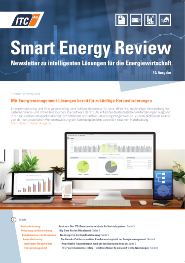 Cover: ITC Smart Energy Review #10