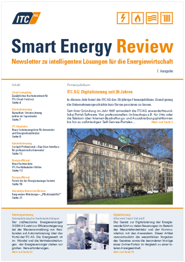 Cover: ITC Smart Energy Review #7