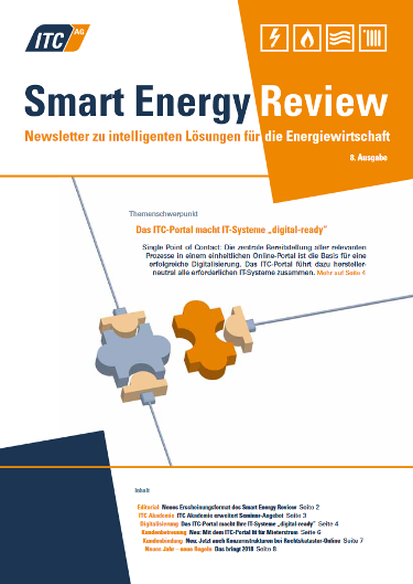 Cover: ITC Smart Energy Review #8
